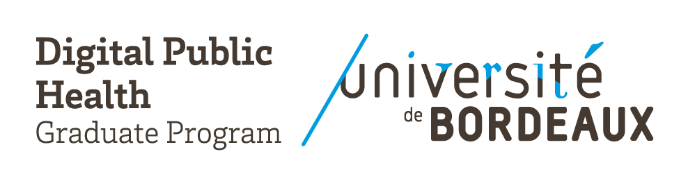 Digital Public Health Graduate Program – Université de Bordeaux